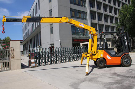Multi-purpose forklift crane dual-use how much